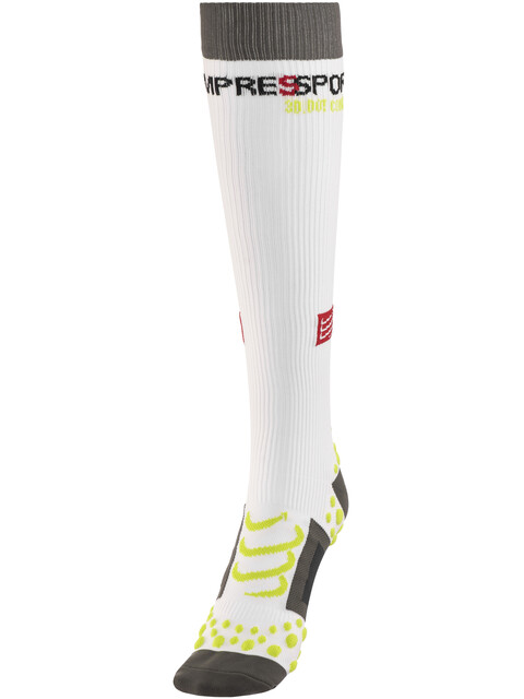 Compressport Full Socks Hardloopsokken wit